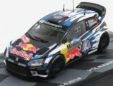 VW POLO WRC TEAM VOLKSWAGEN MOTORSPORT RED BULL N 1 WINNER RALLY MONTECARLO WORL