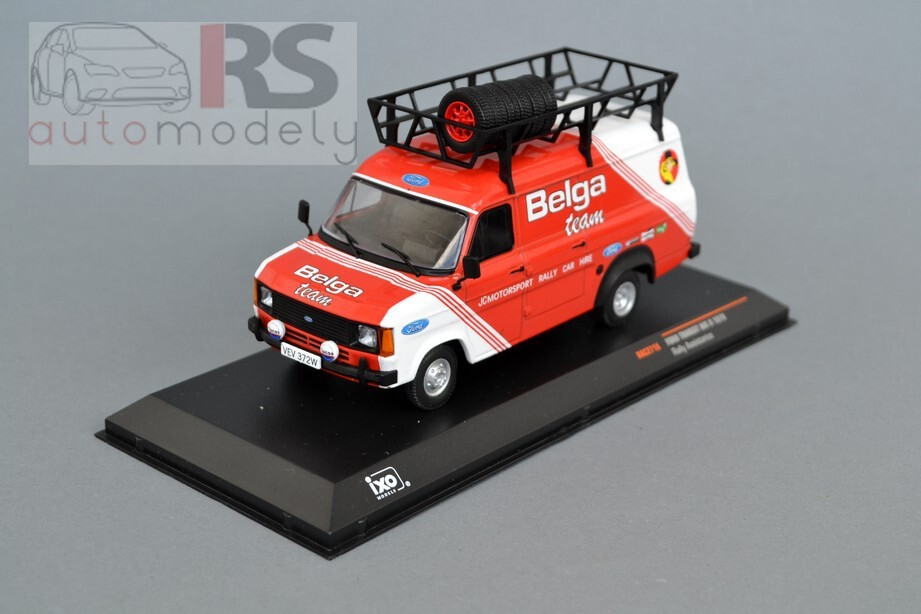 "Ford Transit MK II (1979) Rally Assistance ""Belga"""