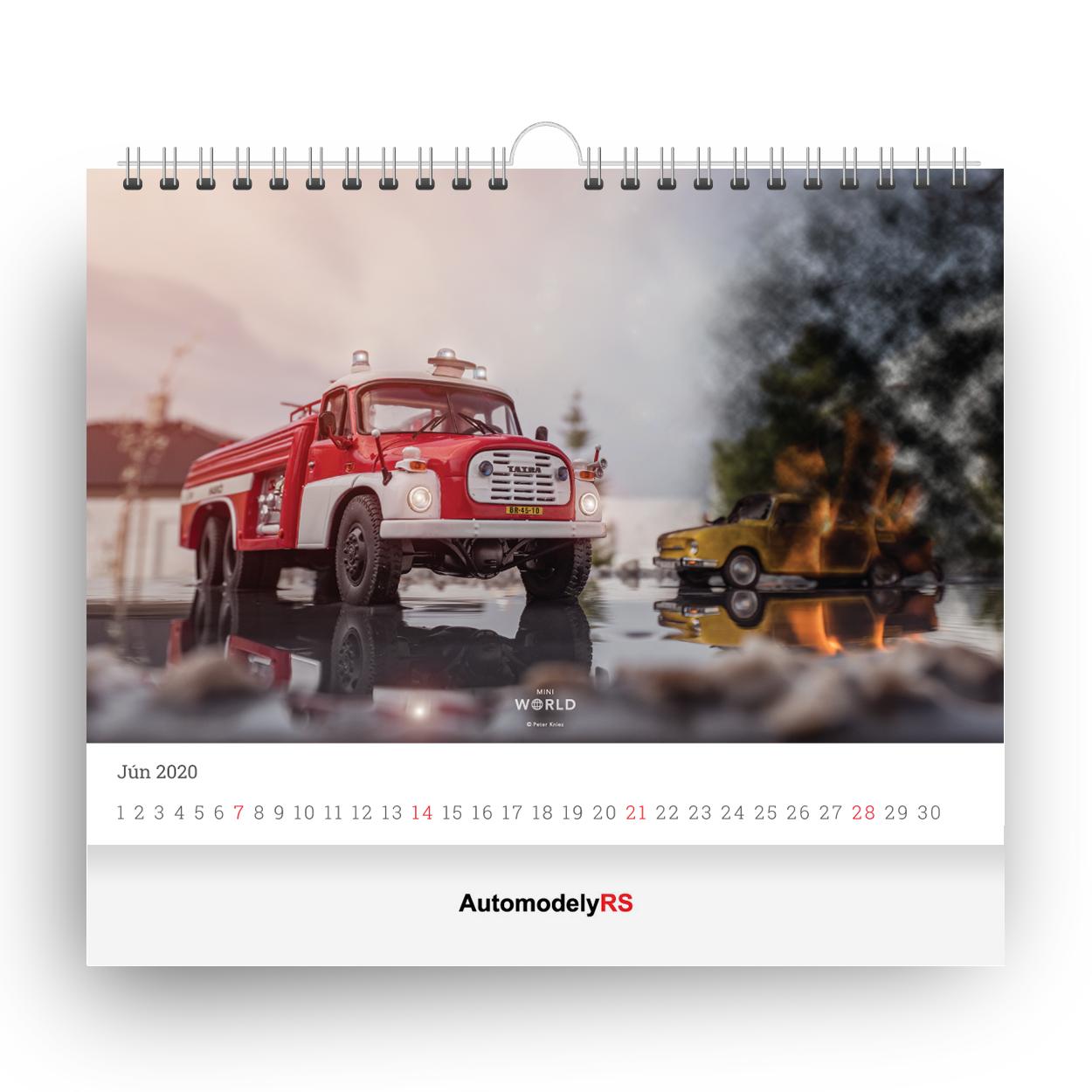 Cardesignworld Na Instagramie 2020 Tesla Roadster: Kalendár Mini World 2020 Hasiči