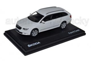 Škoda Superb II combi (White Candy Uni)
