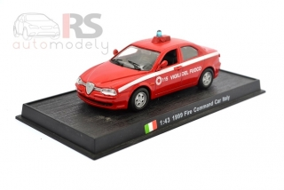 Fire Command Car Italy (1999)  - bazárový model