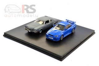 Nissan Skyline GT-R a Chevrolet Chevelle Fast & Furious