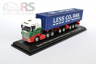 Scania R440 Highline Skeletal Trailer & Container