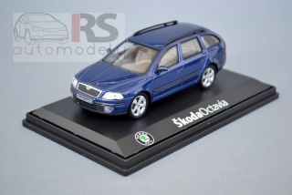 Škoda Octavia Combi 2004 (Deep Sea Blue Metallic)