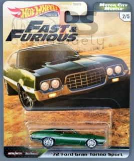 Hot Wheels Ford Gran Torino Sport 1972 Fast & Furious