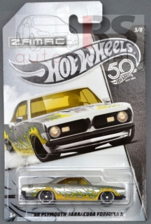 Hot Wheels Plymouth Barracuda Formula 5 1968