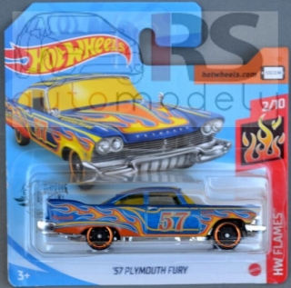 Hot Wheels Plymouth Fury 1957